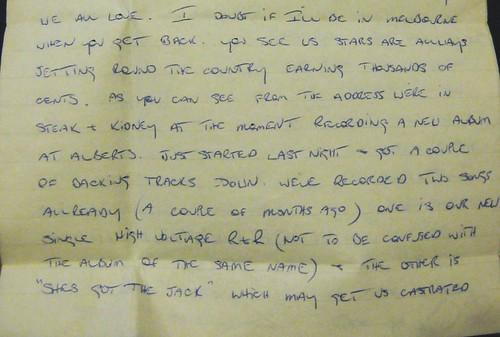 letter from bon