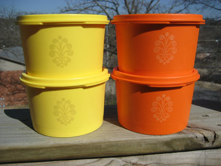 Tupperware Small Canisters