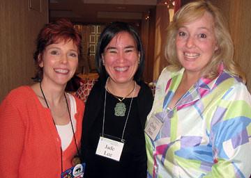 Lori Devoti, Jade Lee and Cindy Dees