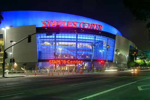 Staples Center, NBBJ Architects 1999 by Michael Locke