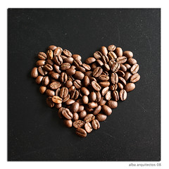 I love coffee, especially Monday morning... (albaflickr) Tags: love coffee caf heart postcard corazn abigfave diamondclassphotographer flickrlovers