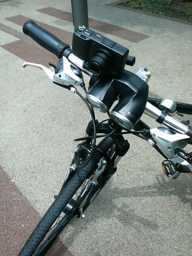 GRDigital付き自転車