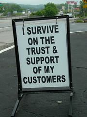 I Survive (Catherine Rankovic) Tags: money support midwest missouri depression economy smalltown eureka customers survive hardtimes recession smallbusiness isurvive