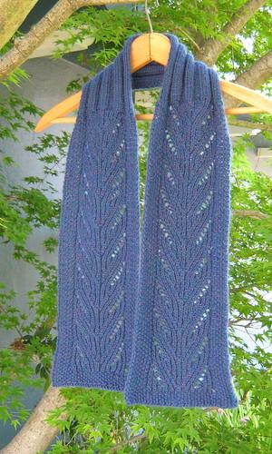 вязание спицами с описанием и схемами. вязание спицами ажурние шарфы.