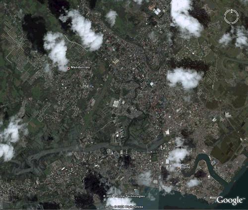 Iloilo City Satellite Image