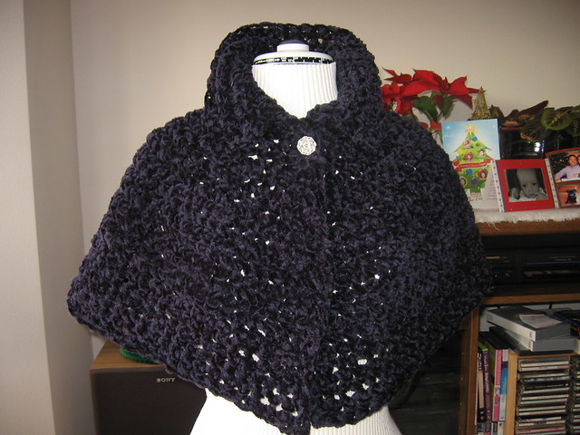 Colorful Free Crochet Pattern For Capelet Ornament - Easy Scarf ...