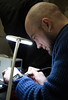 Eugene Soldering (mangtronix) Tags: berlin lasersaur madebyus makerlab spektrum
