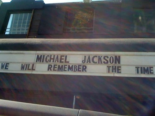 Michael Jackson Marquee