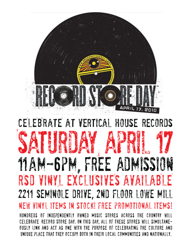 Record Store Day @ Vertical House Records!