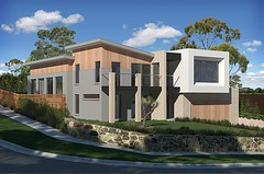 day (James Burrell) Tags: house max architecture 3d autodesk melbourne architectural visualization residential visualisation 3ds viz vray 3dvisualization pixelconstructions