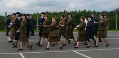Eden Camp 2009 (I Poper) Tags: camp girl army women navy parade 1940s ww2 british uniforms afmc britisharmy rac reenactors raf ats powcamp prisonerofwarcamp edemcamp edemcampmuseum navaloffiers italianpowcampwwii italianprisonerofwarcamp germanprisonerofwarcamp wwiiarmycamp