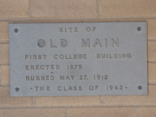 Old Main Sign