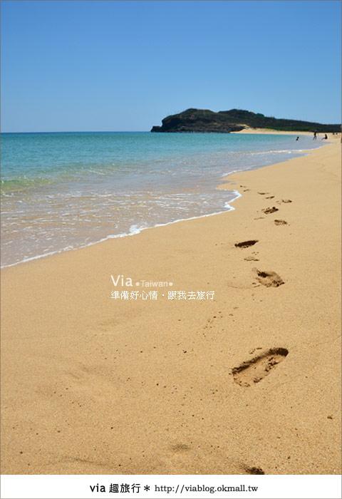 【澎湖沙灘】山水沙灘,遇到菊島的夢幻海灘!23