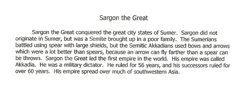 Sargon the Great E