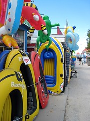 Wasaga Beach, Ontario, Canada (mharvey.nyc) Tags: beach landscape inflatable raft wasagabeach beachstore