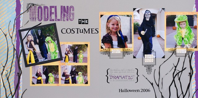 Halloween Layout 6