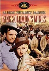Poster Las Minas del Rey Salomon (1937)
