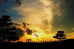 burning sky (hoita) Tags: sunset sky soe goldenmix golddragon mywinners superbmasterpiece diamondcla