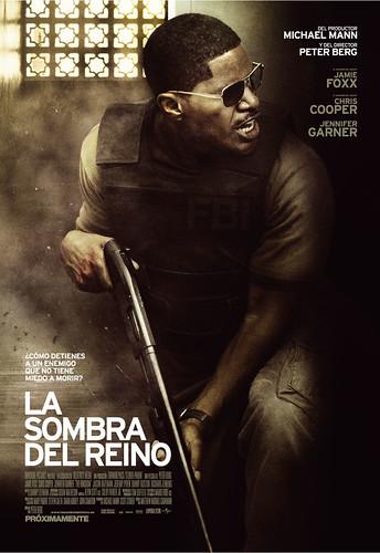 Póster y dos trailers en castellano de 'La sombra del reino': Jamie Foxx a tiros en Oriente Próximo