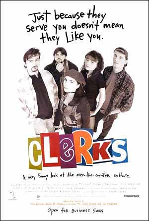 Clerks - Movie Poster