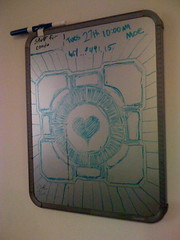 weighted companion cube (robotkasten) Tags: cube companion weighted