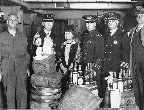 Temperance Worker with Portland Police