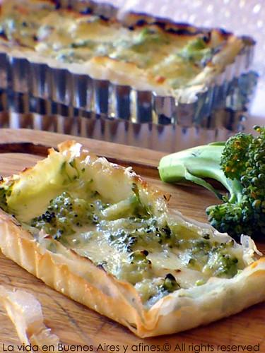 Torta de brocoli