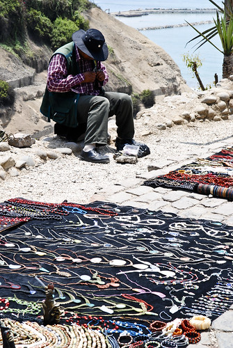 Selling Jewelry in Barranco