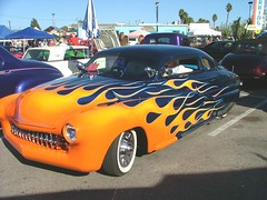 SANTA CRUZ HOT RODS AT THE BEACH