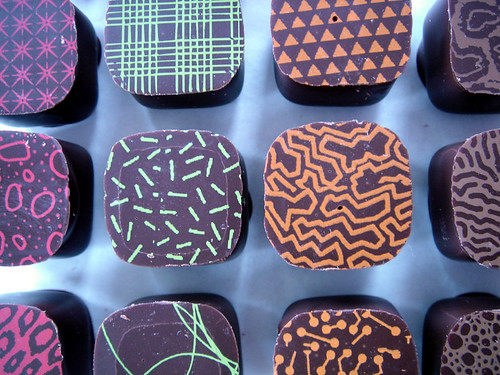 les chocolats, c'est comme la vie