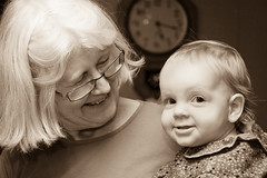 Photo titled So happy with her grandma