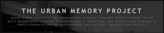 Urban Memory Project