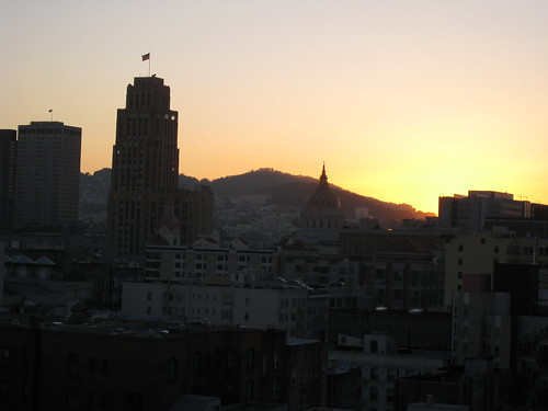 Sunrise in SF