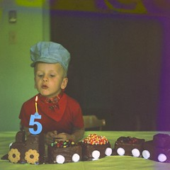 Chris' fifth birthday