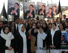 DSC_0016 (Sajjad Ali Qureshi) Tags: pakistan lawyers islamabad photojournalist pakistanarmy thenation sajjadaliqureshi protestinislamabad cheifjusticeofpakistan pakistanimedia lawyermovementinpakistan pakistansupremecourt iftikharchaudhary protestagainstmusharraf pakistanjucdicialcrisis ehtizaz