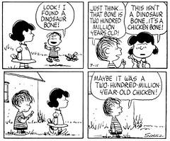 Linus's dino bone