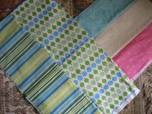 Class Quilt - strips cutting