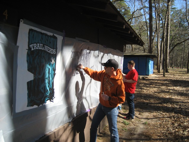 2008 Rocky Raccoon 100 Decorating