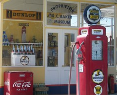 Fill 'er up! (Dusty_73) Tags: california classic station vintage central gas pump valley restored americana service roadside coalinga richfield automobilia