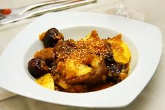 Tajine de Cordero con ciruelas pasas/ Lamb Tajine with prunes