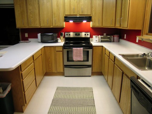 kitchen oven range