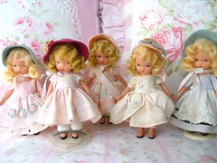 My Girls (sweetnshabbyroses) Tags: vintage book doll bisque story nancy ann storybook