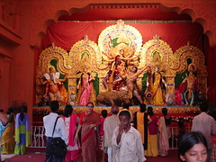 Durga Pooja 2007 (prabhumam) Tags: evergreen pooja kolkata puja durga ekdalia pandals