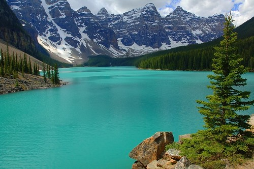 Moraine Lake, Banff National Park, Alberta, Canada--my first EXPLORE,