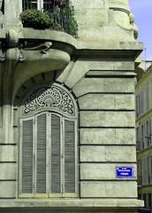 Passed glory (polbar) Tags: france architecture marseille pom artnouveau shutters blueribbonwinner bdprier