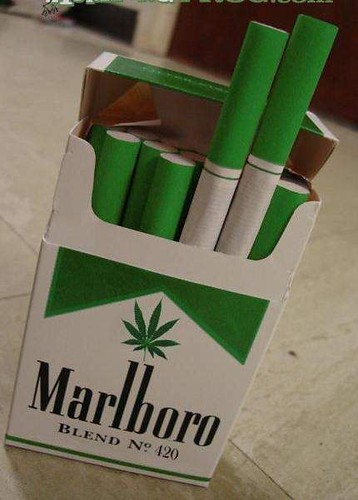 new marlboro with weed