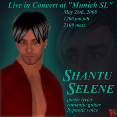 Shantu Selene Live in Concert in MunichSL am 26.5.2008 21 Uhr