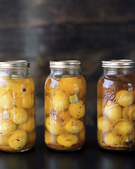 Pickled Eggs (rootberrys) Tags: food color 120 mamiya film cooking mediumformat photography egg slidefilm southern negative eggs mf pickled foodphotography