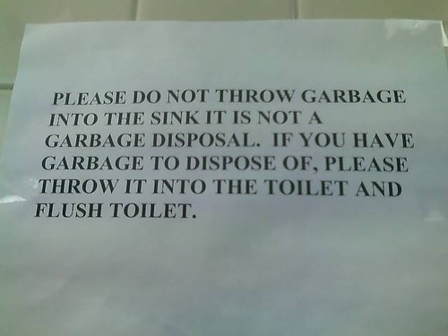 This first note was posted in the bathroom of the Gay Pride Center in New ...