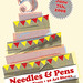 needles and pens::::::::::five years